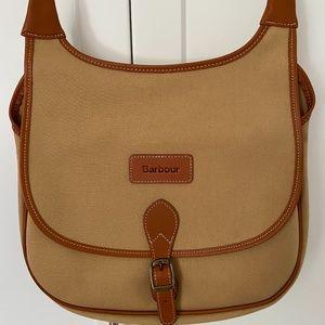Barbour Shoulder Bag w/ Adjustable Strap - As New
